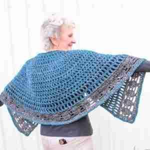 Nordic Cape Crochet Pattern