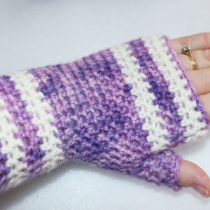 Purple EasyFit Mitts
