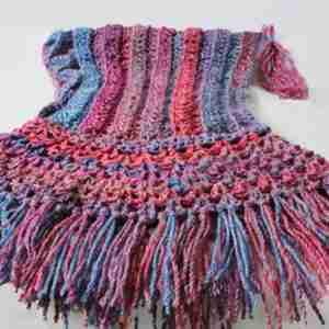 Fringed Hood Crochet Pattern
