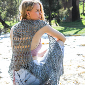 Relaxed Boho Vest Crochet Pattern