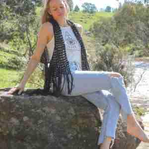 Relaxed Boho Vest Crochet Pattern