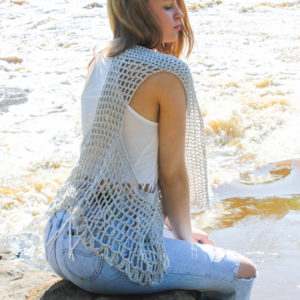 Relaxed Lacy Vest - cover