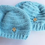 2 Pastel Blue Valley Beanies