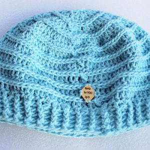 3rd loop Pastel Blue Valley Beanie