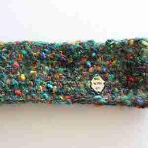 Green Mohair Simple Headband