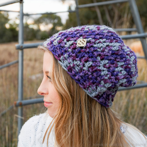 Purple Hat 4a