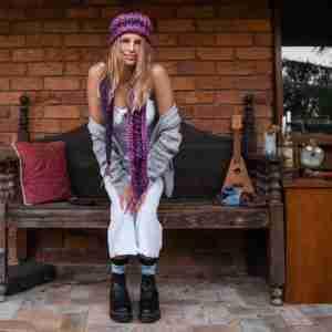 Funhouse scarf & Funhouse Beanie - 1a