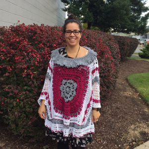 Desert Dreams Poncho Crochet Pattern - MaryLou's version