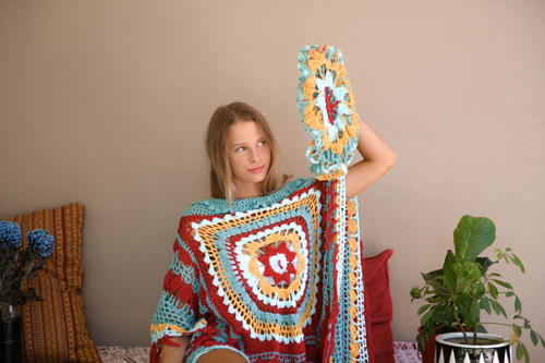 Desert Dreams Slouchy with Desert Dreams Poncho