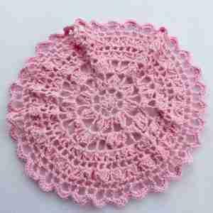 Full of Fans Mandala Crochet Pattern