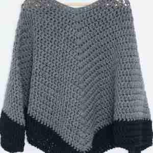 The Easy Poncho Crochet Pattern