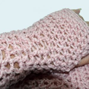 Candy's version of Fi's Fancy Fingerless Gloves - Close up