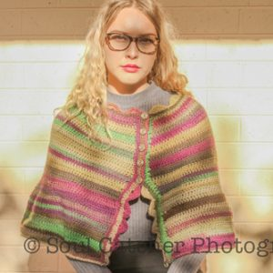 Danube Cape Crochet Pattern