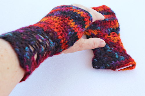Fi's Fancy Fingerless Gloves Crochet Pattern