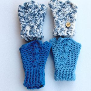 All the Blue Shells Mitts - in a square
