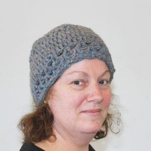 Re-V Beanie Crochet Pattern - from the front