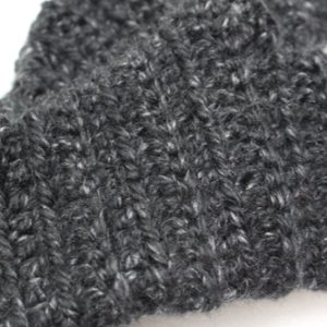 Nessa's Choice Mitts in Black Canyon Lion Brand Heartland Thick & Quick - Super Close
