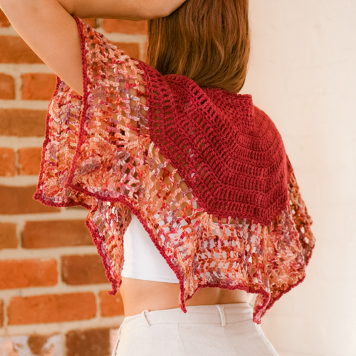 Art Gallery Shawl by ReVe Design Co - Model Photo 1