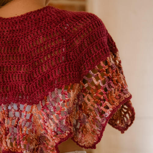 Art Gallery Shawl by ReVe Design Co - Model Photo 2