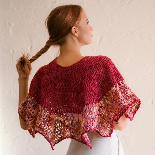 Art Gallery Shawl by ReVe Design Co - Model Photo 3