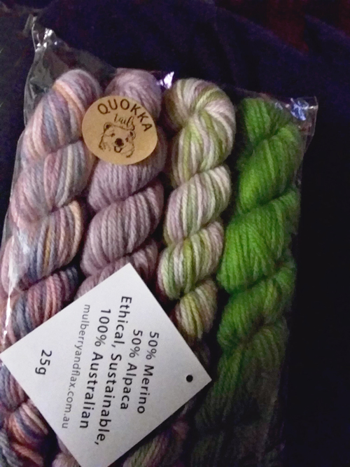 Quokka Tails from Great Southern Yarn